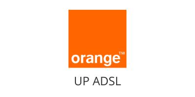 logo orange up adsl