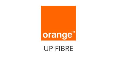 logo orange up fibre