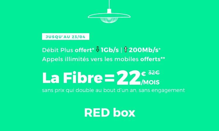 Red prolonge sa promotion box Red Fibre jusqu'au 23/04