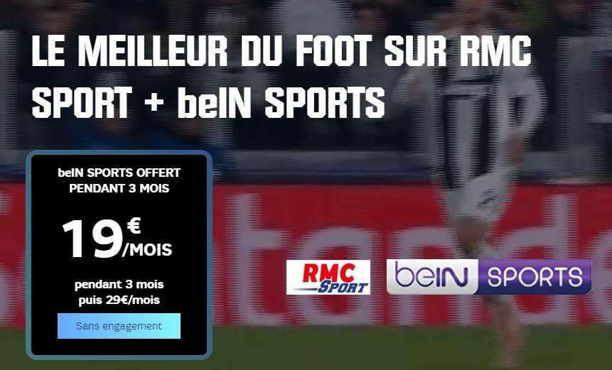 BeIN Sports offert pendant 3 mois grâce au Pass Sport SFR