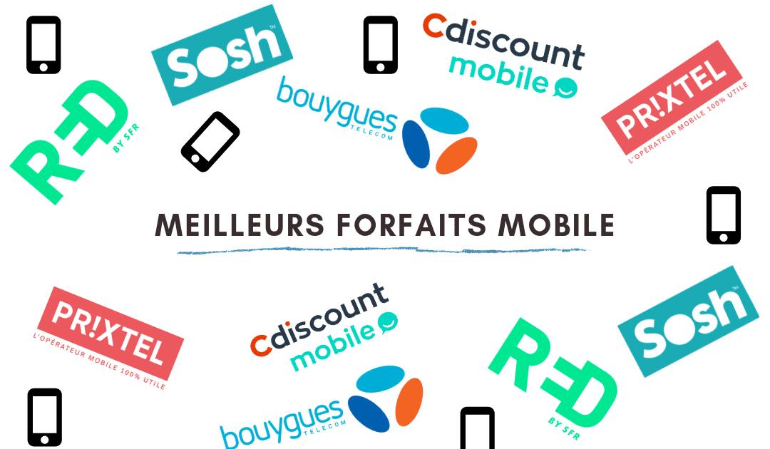 Comparatif forfaits mobile 2019 : les meilleurs forfaits mobile !