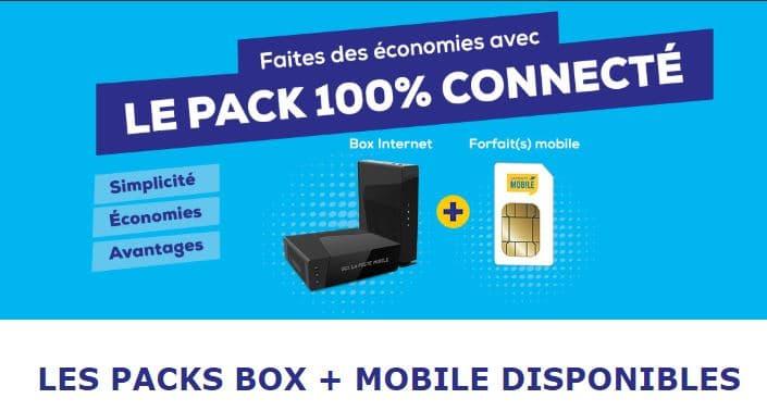 Promotion sur les packs 100% connectés : La poste mobile