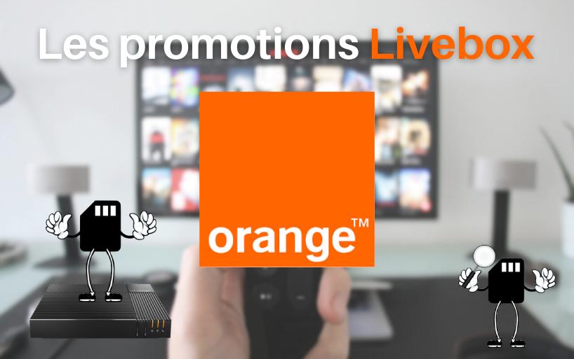 Promotion box internet chez Orange : Livebox à petit prix !