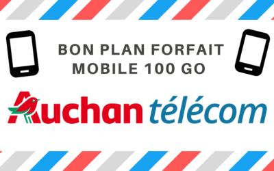 Offre forfait mobile 100 Go à 9€99/mois sans engagement