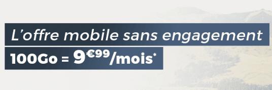 Clap de fin pour la Série limitée Cdiscount mobile 100 Go