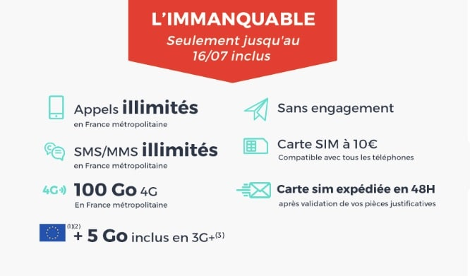 Forfait Cdiscount mobile IMMANQUABLE