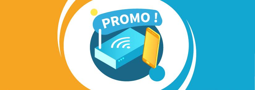 3 box internet en promotion à moins de 15€ par mois !