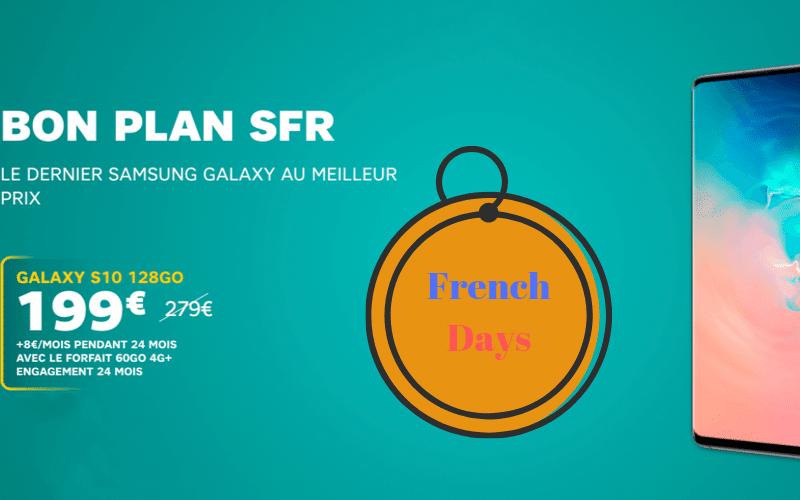 vente flash FR le galaxy S10 à 199€