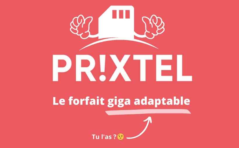 Forfait mobile Prixtel : un forfait qui s'adapte à vous !