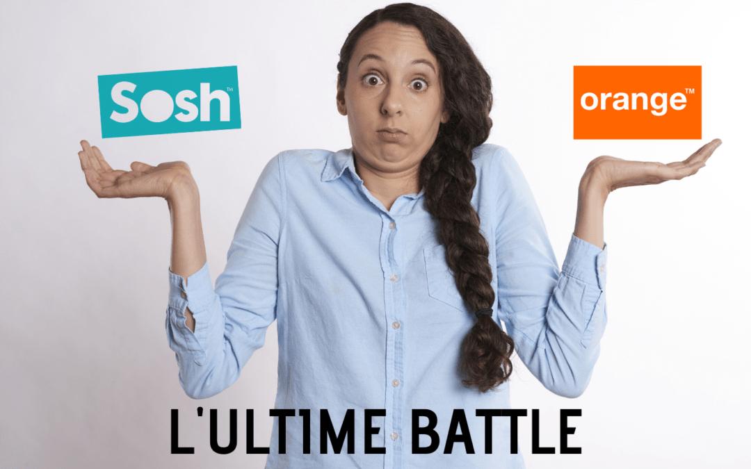 Différence entre Sosh et Orange : l'ultime battle !