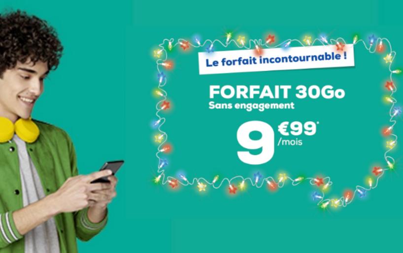 Le forfait SIM La Poste Mobile en promo à 10,99€