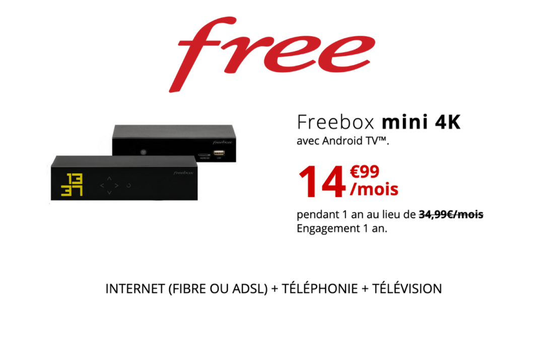 promo freebox mini 4K