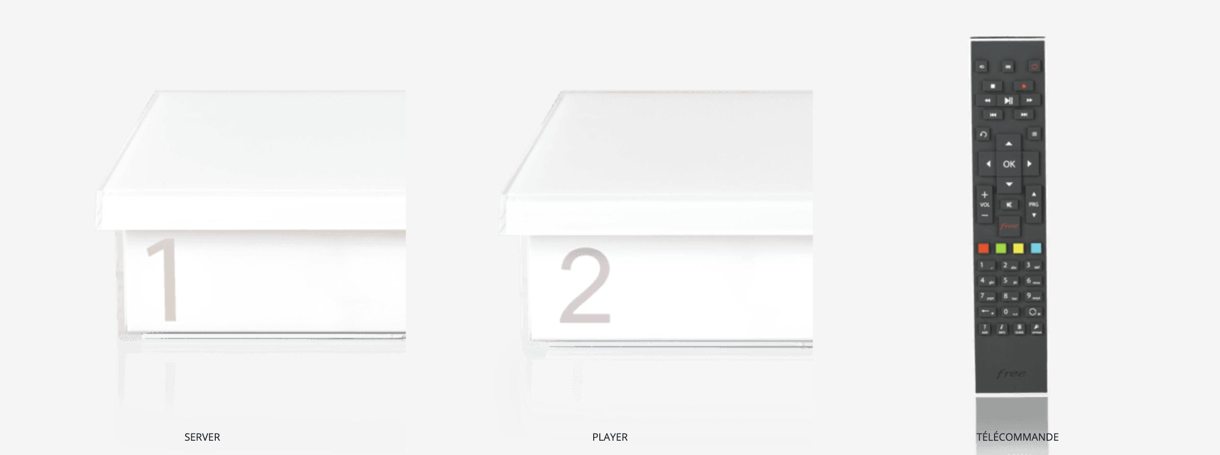player et server freebox crystal