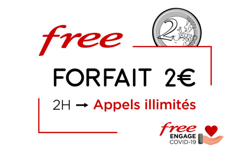 offre free 2€