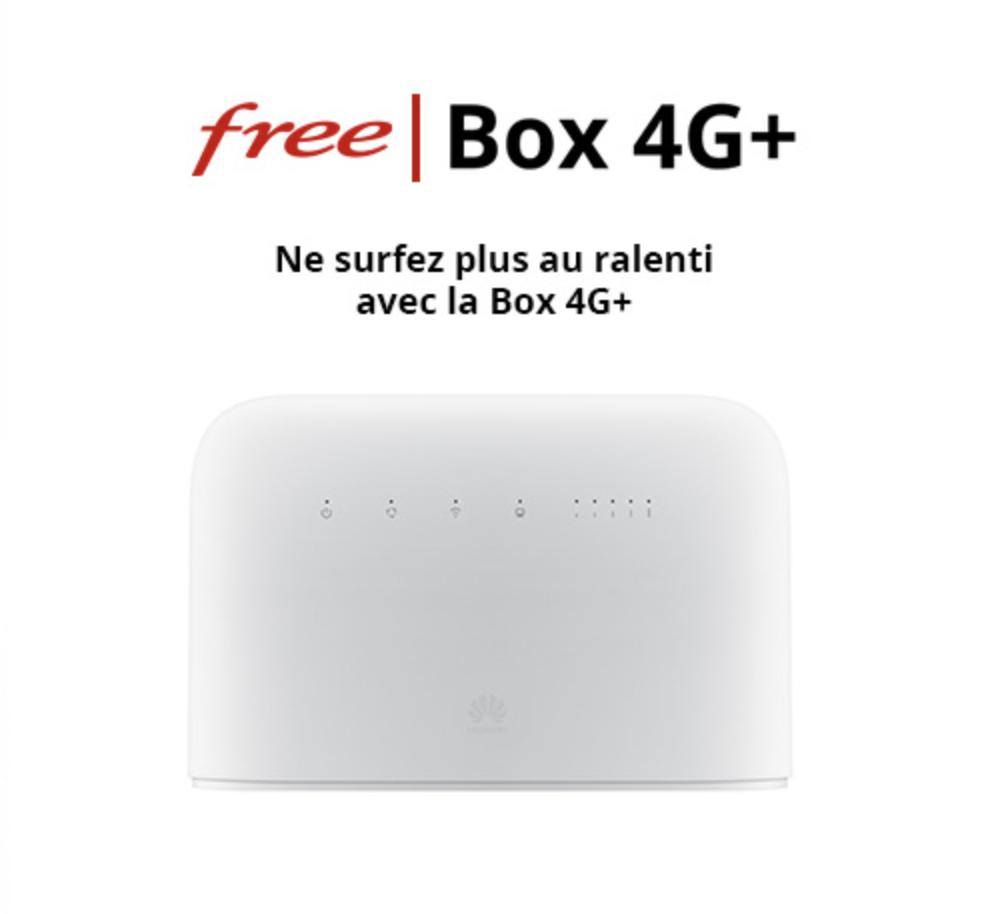 Box 4G illimité Free