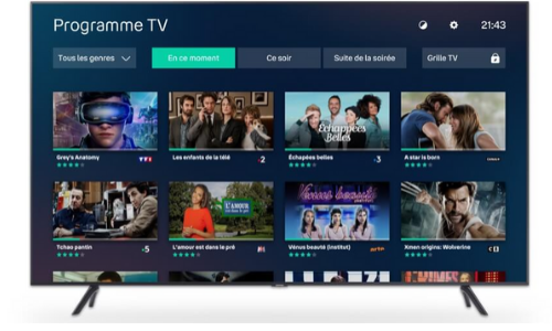 bbox smart tv vue de face