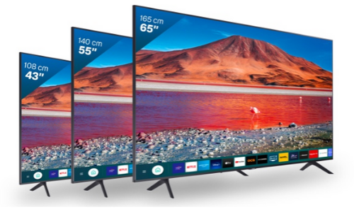 différentes tailles de la bbox smart TV