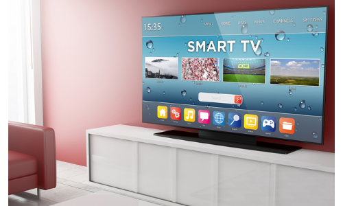 smart tv en situation