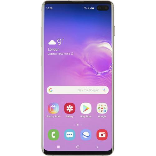 Samsung Galaxy S10+ vu de face