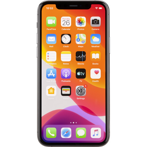 iphone 11 pro pas cher vu de face
