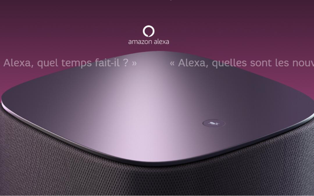 L'assistant vocal Alexa débarque sur la SFR Box 8