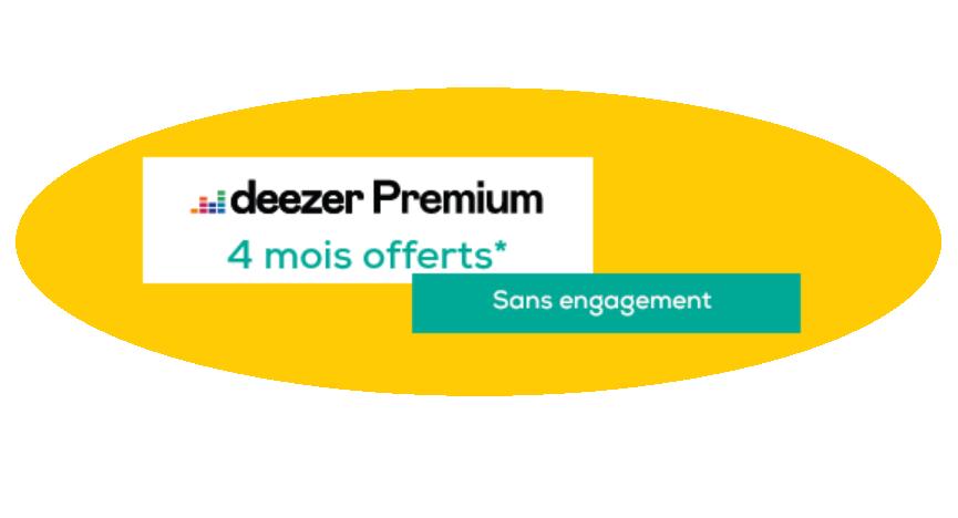 Deezer premium la poste mobile