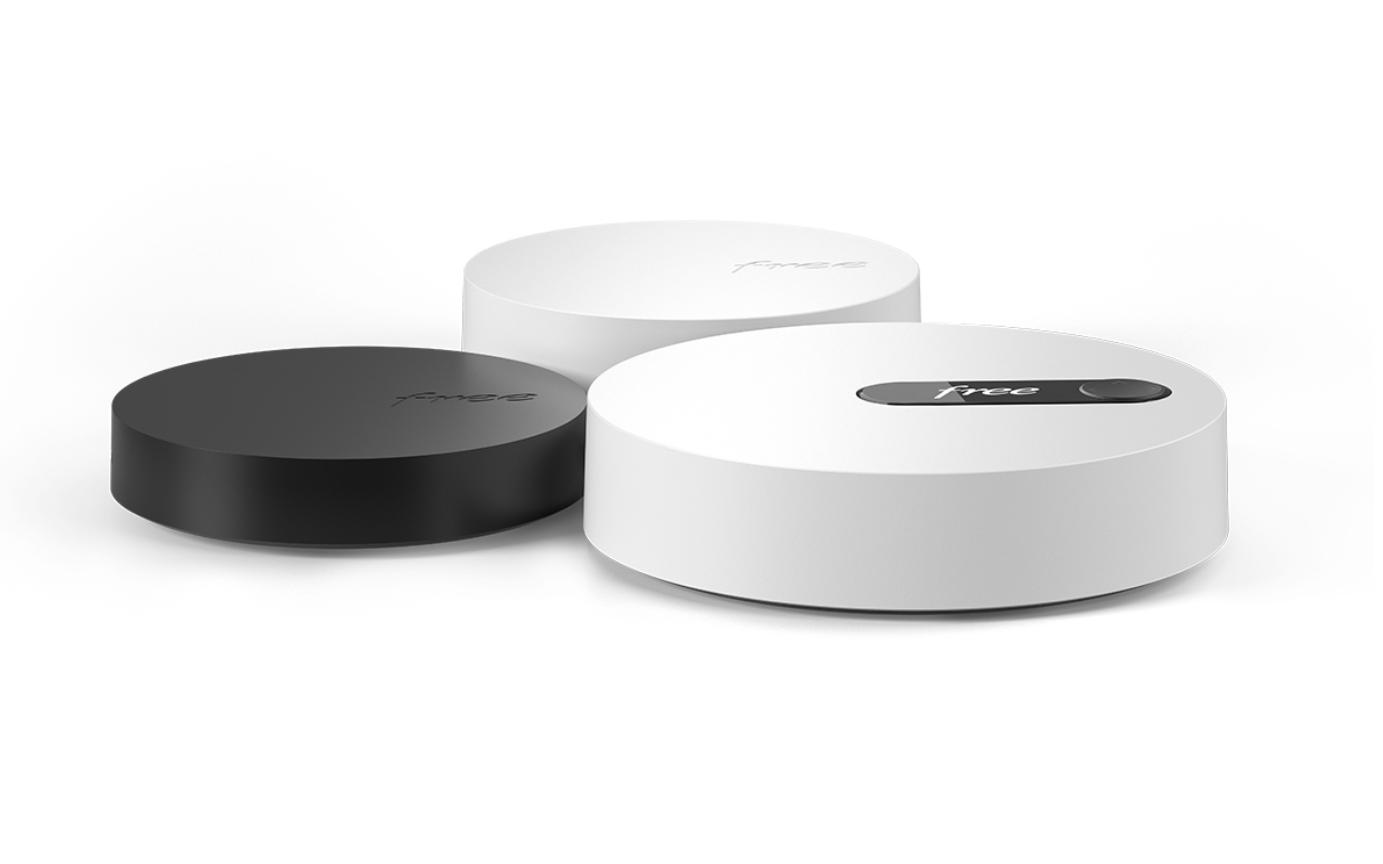 Le design de la Freebox Pop