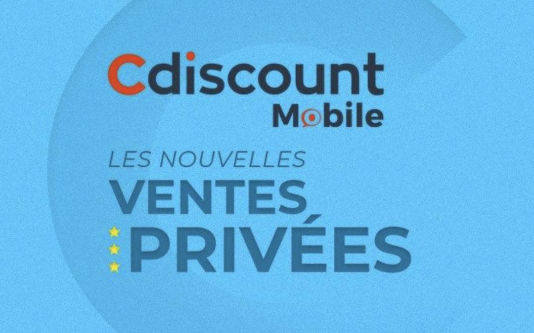 Les deux nouveaux forfaits Cdiscount Mobile en promo à vie !