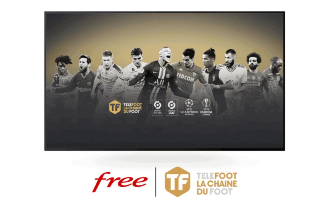 Les chaines telefoot débarque sur Freebox