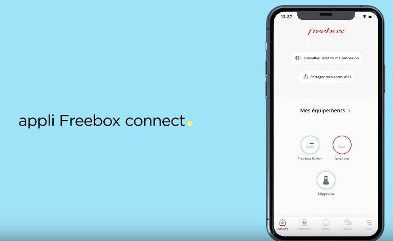 Application freebox connect