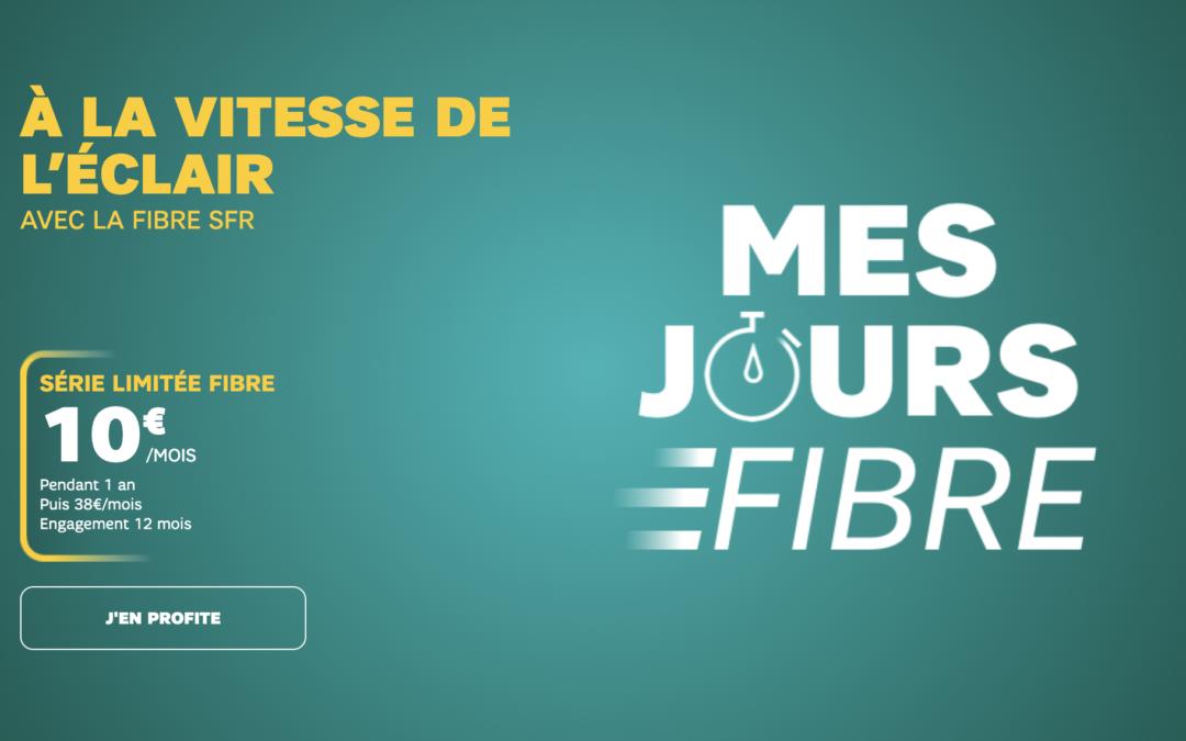 La box internet SFR fibre ou Adsl est en promotion à 10€/mois !