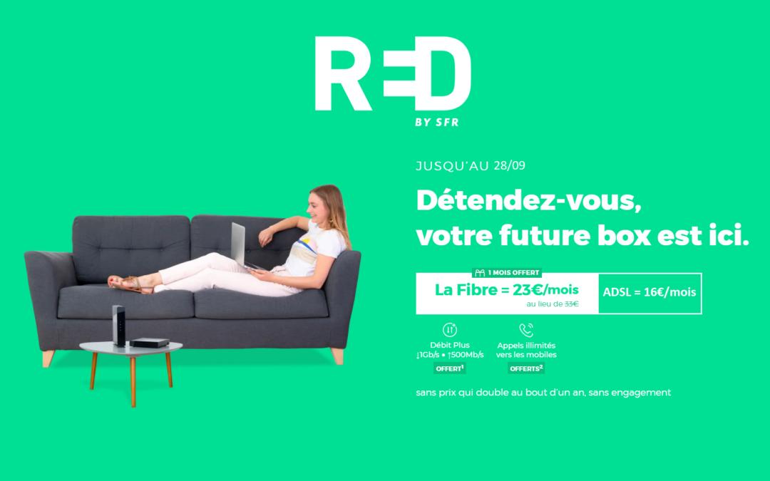 Les promos RED box SFR à partir de 16 euros par mois