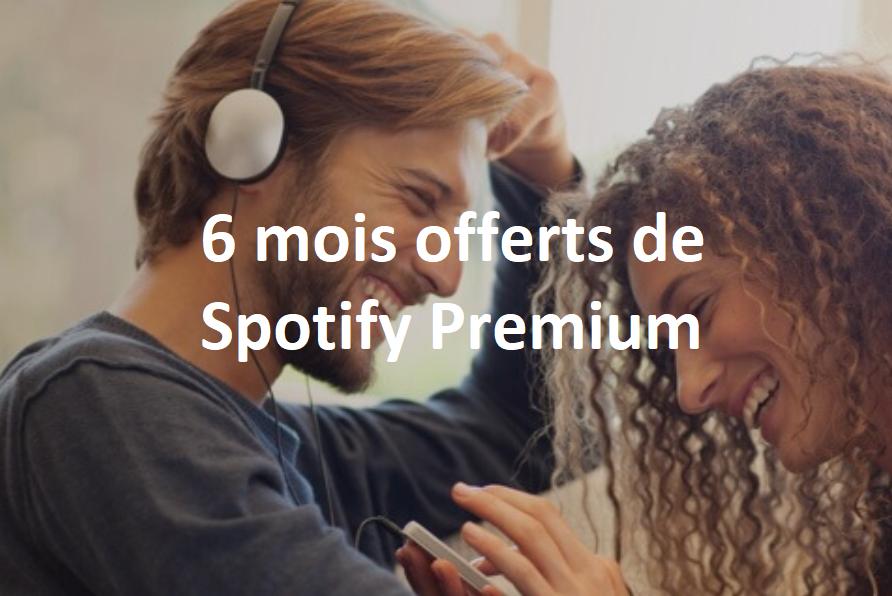 Nouvelle offre Spotify Bouygues Télécom : 3 ou 6 mois d'abonnement premium offerts !