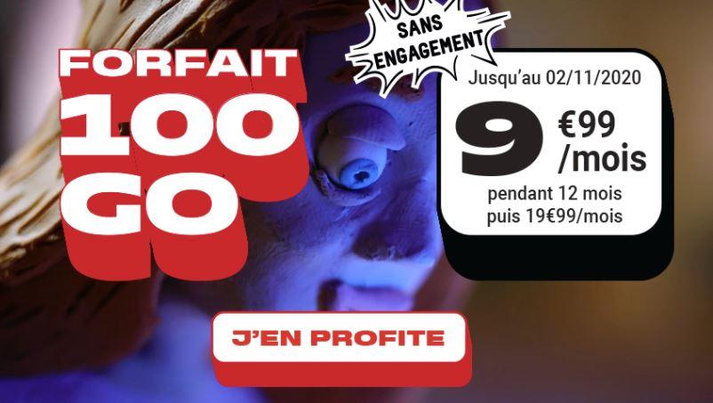 Le forfait mobile NRJ pour les datavores : 100 Go pour 9,99€/mois
