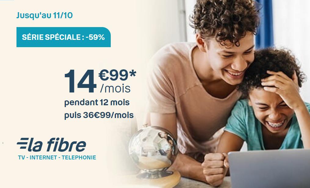 Offre Bouygues Box : profitez d'une box internet fibre ou ADSL à partir de 14,99€/mois