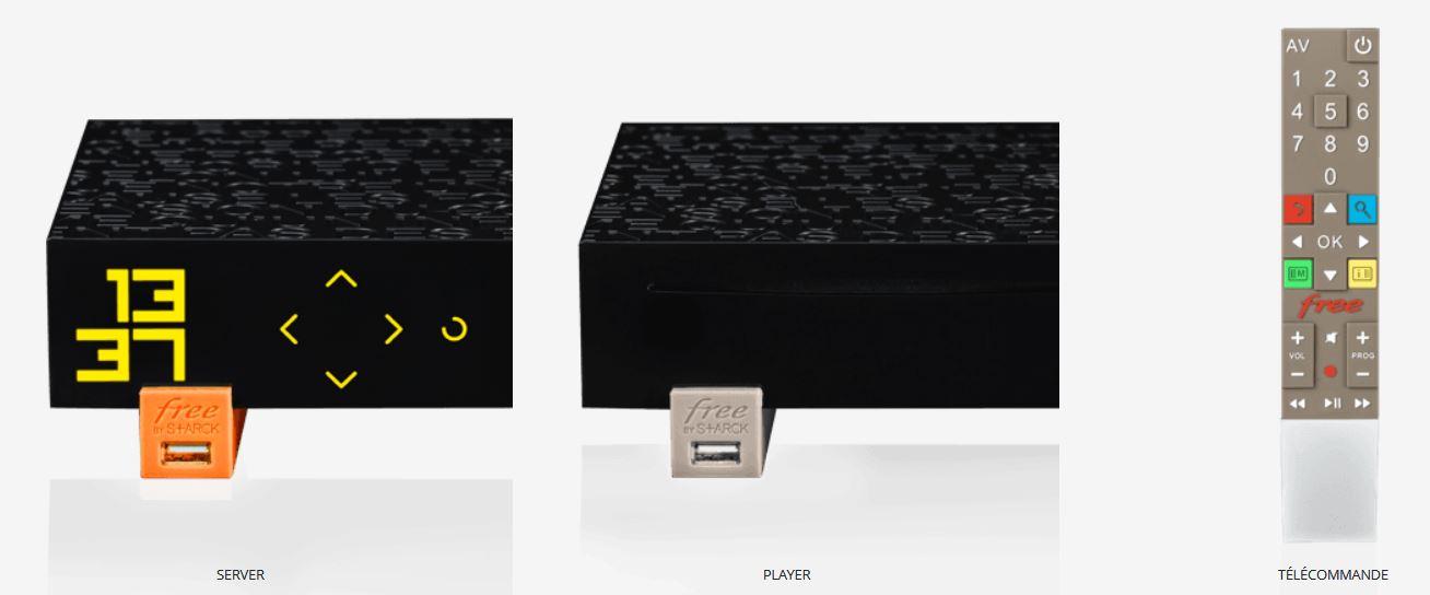équipement freebox révolution