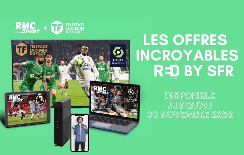 Les meilleures offres RED by SFR : forfait mobile, box internet et bouquets TV