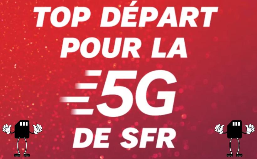 top départ forfait 5G SFR