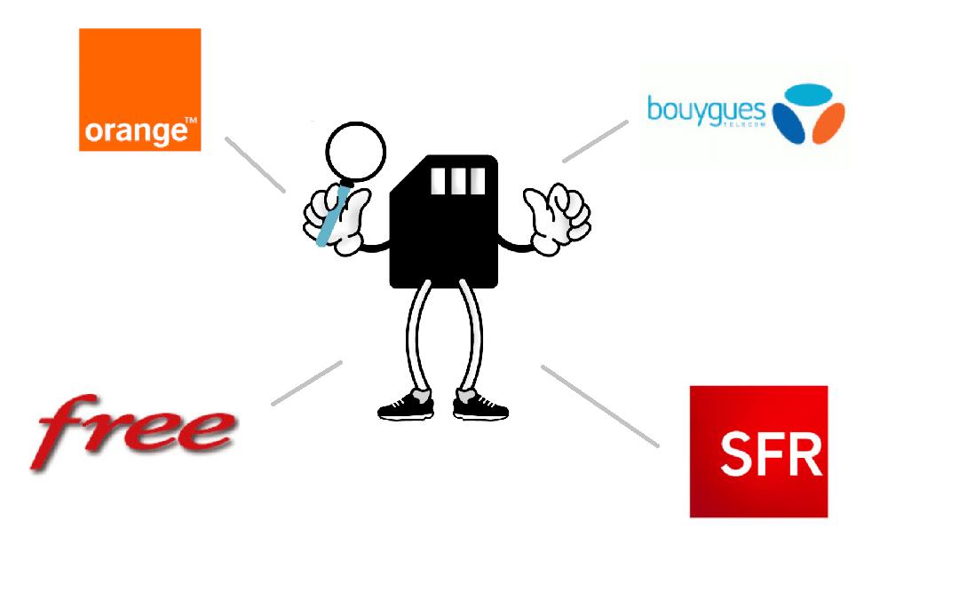 logo des différents opérateurs 5G