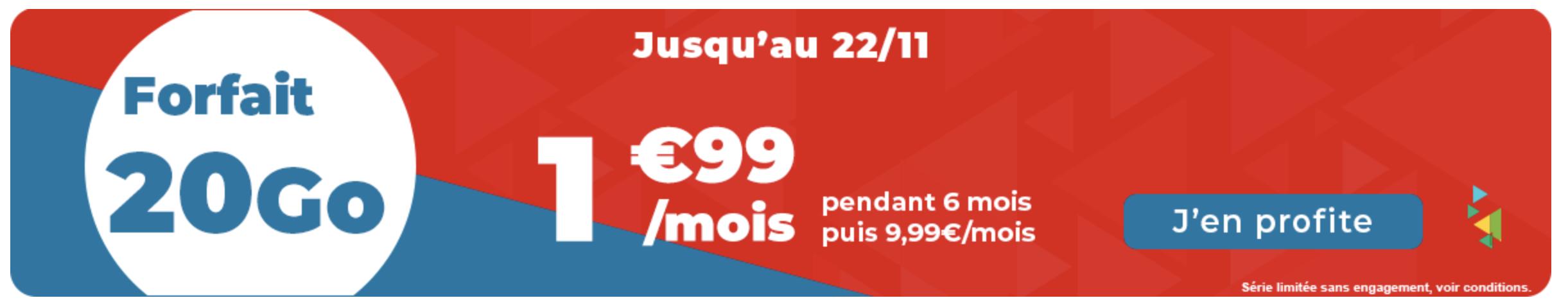 Bannière auchan télécom promo