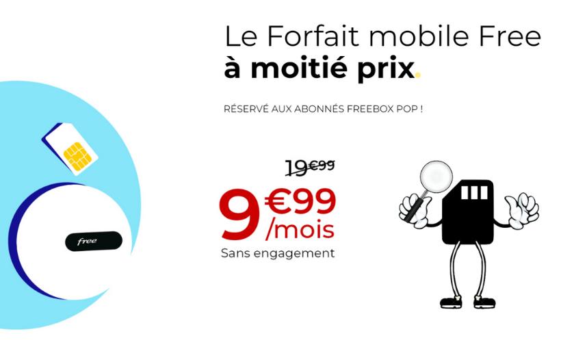 offre freebox pop et forfait mobile en promo