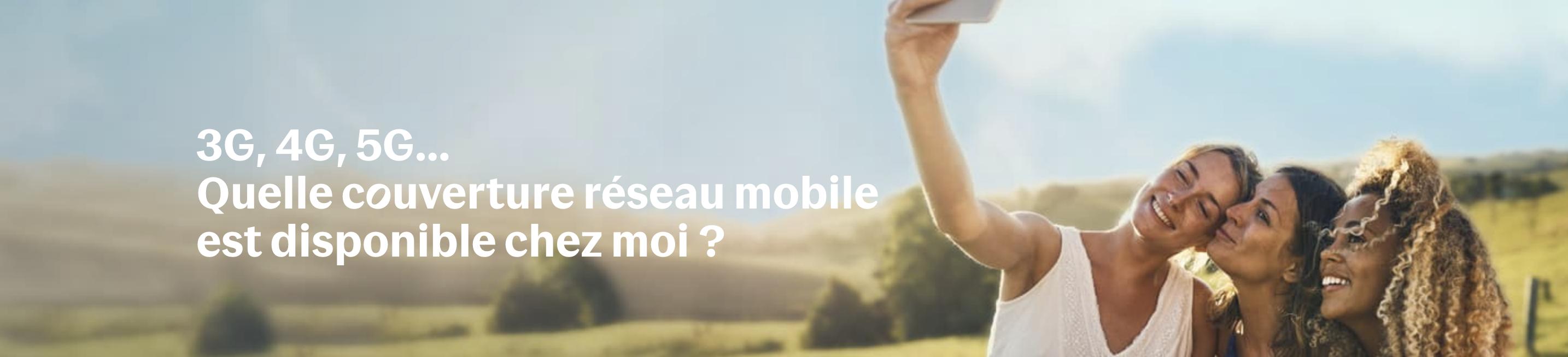 Couverture r&seau Bouygues Télécom