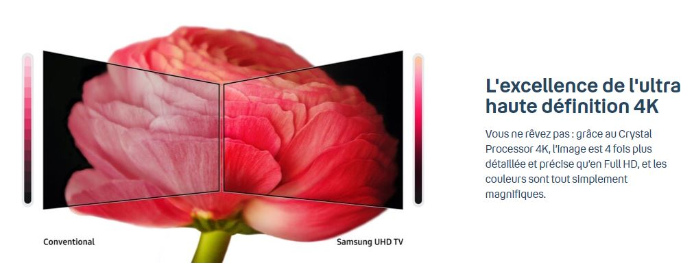 La 4K de la Smart TV Samsung