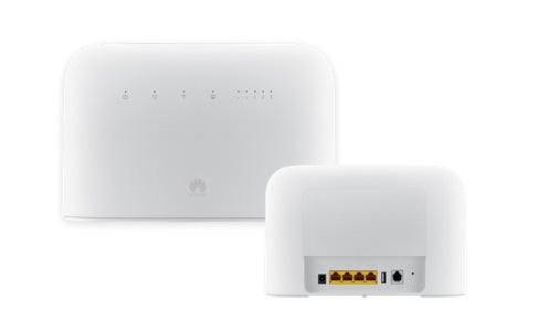 La box 4G Free de face et de dos