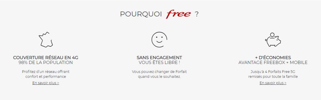 pourquoi choisir free
