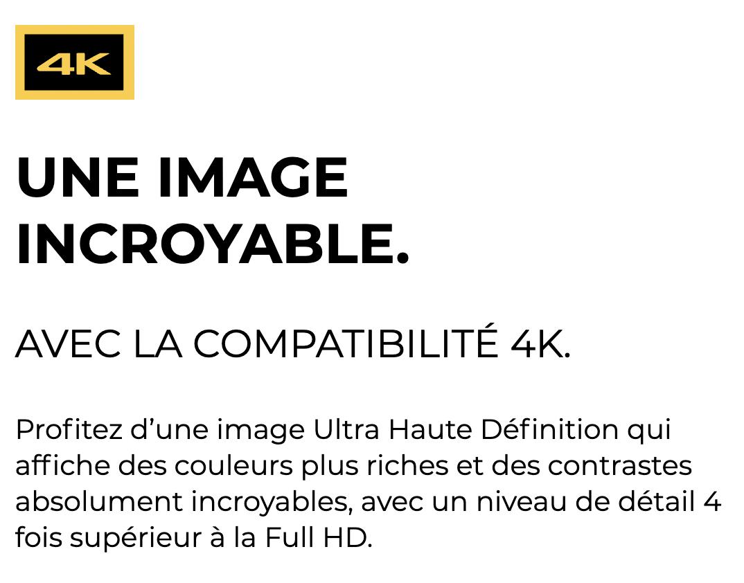La 4K de la Freebox Mini 4K