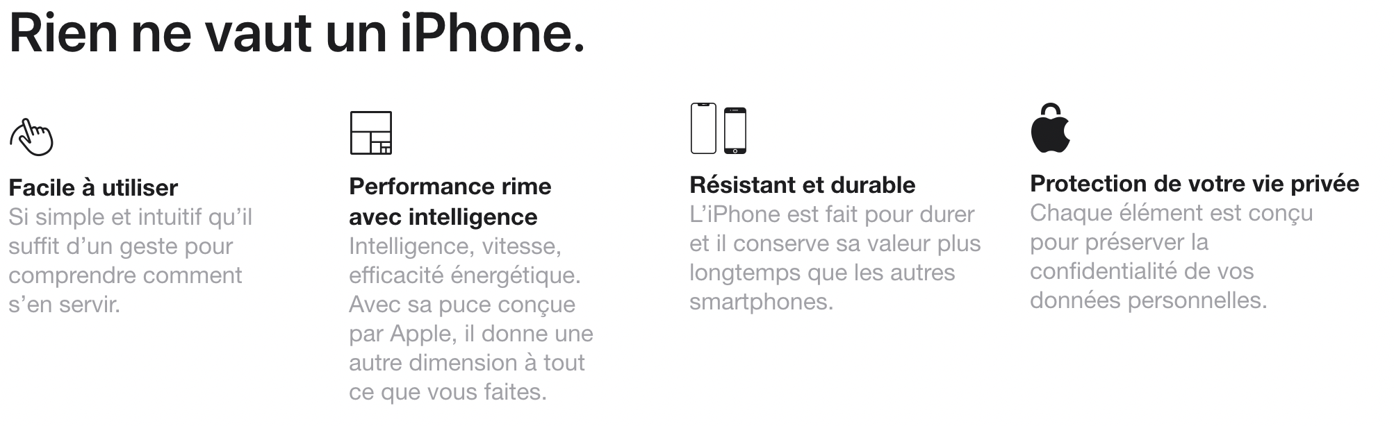 pourquoi choisir un iphone 12