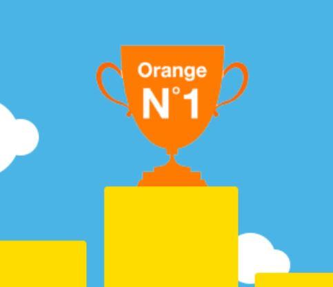 Orange réseau mobile numéro 1