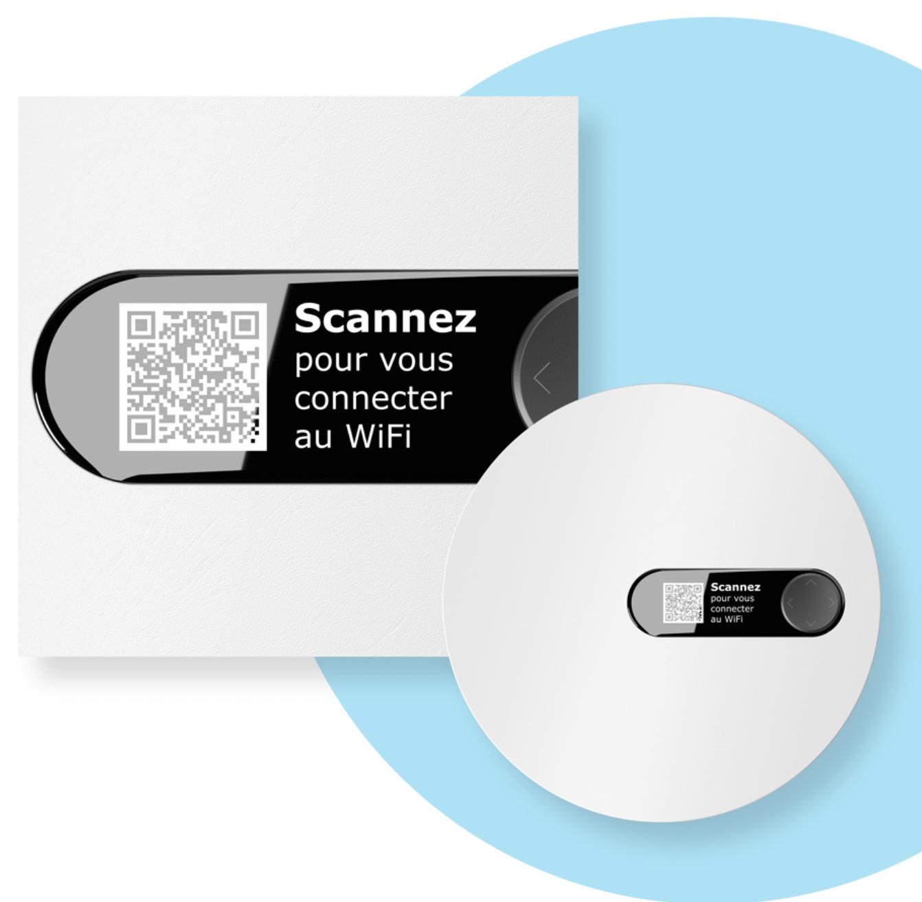 la connexion au wifi QR code freebox pop