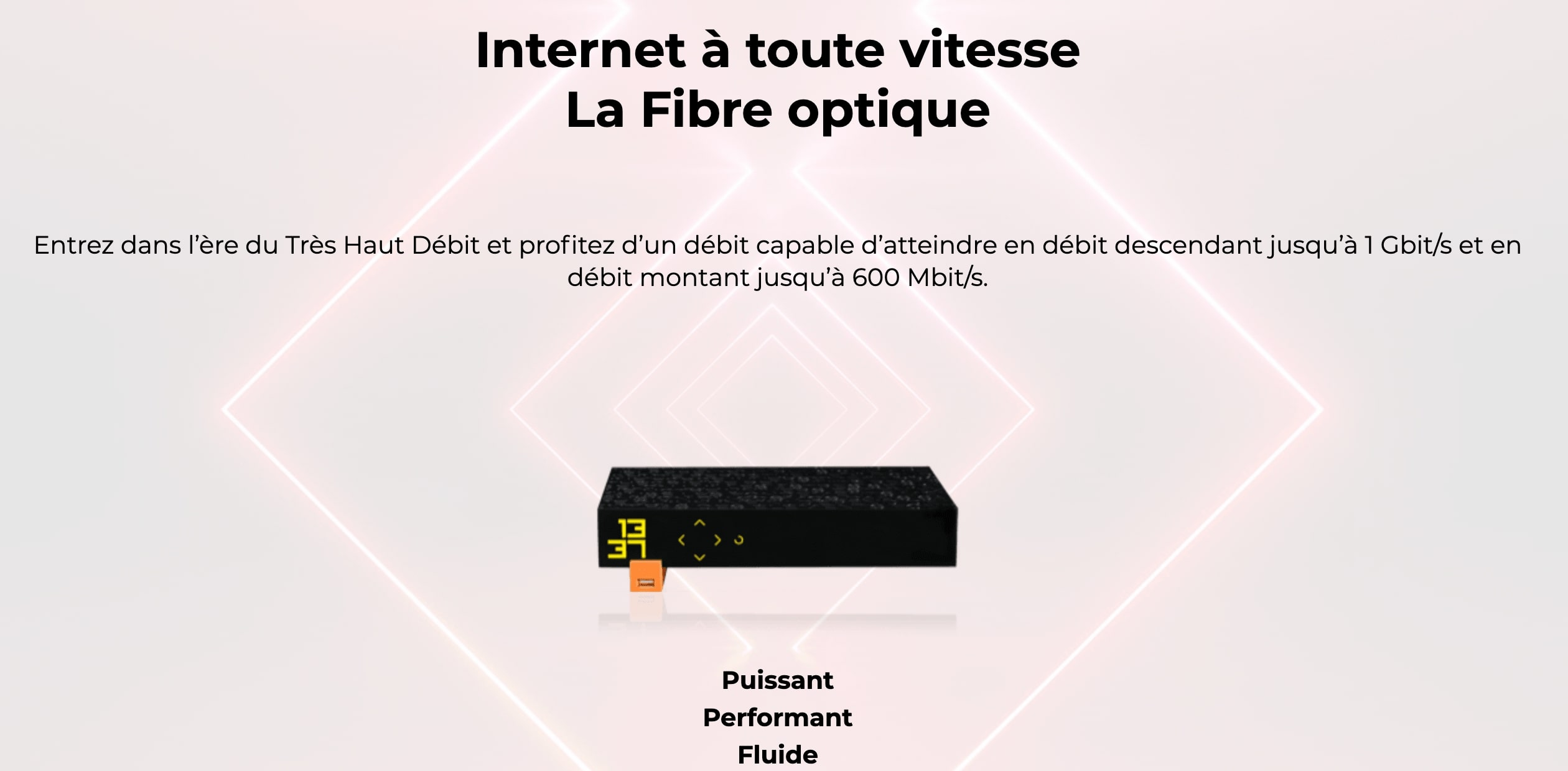 Les débits de la Freebox Révolution